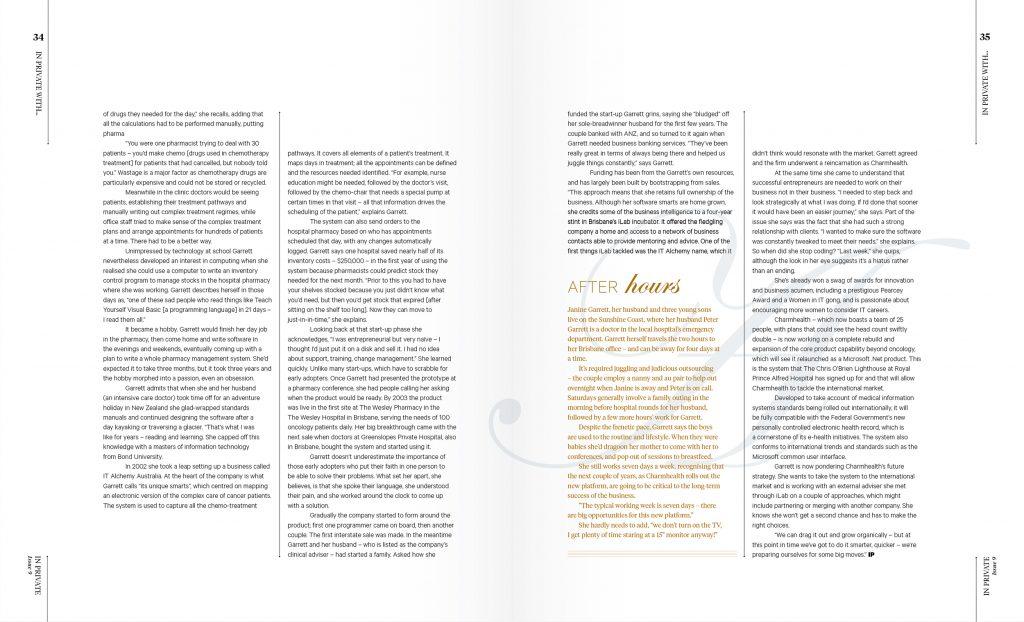freelance magazine designer